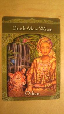 日常 ときどき スピリチュアル-drink more water